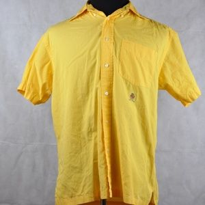 Tommy Hilfiger Short Sleeve Shirt Yellow S